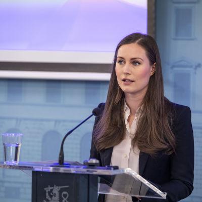 Hallituksen infotilaisuus koronavirustilanteesta 18.3.2020