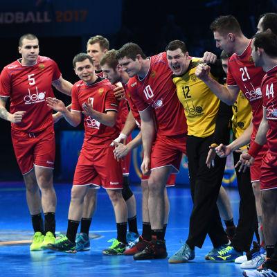 Rysslands herrlandslag spelade åttondelsfinal vid VM 2017.