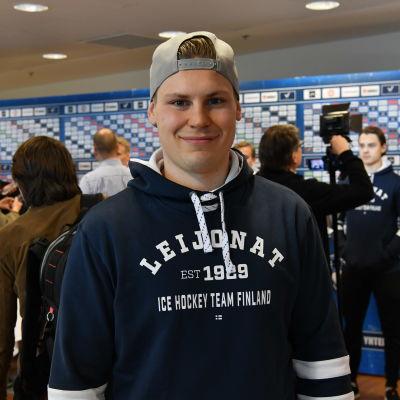 Ville Pokka inför årets VM-turnering i Danmark.