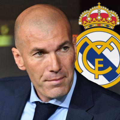 Zinedine Zidane återvänder till Real Madrid.