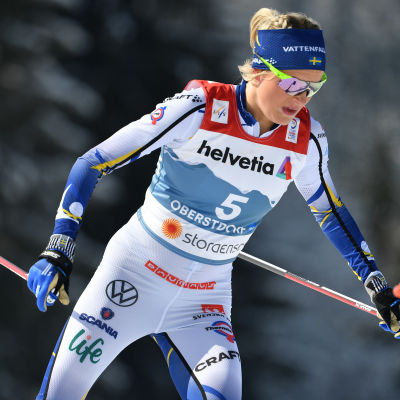 Frida Karlsson i VM 2021.