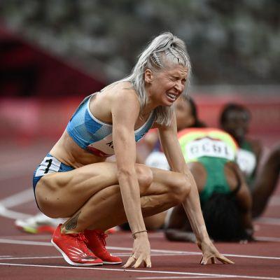 Sara Kuivisto juoksi ensimmäisenä suomalaisnaisena alle kahden minuutin naisten 800 metrin olympiavälierässä.