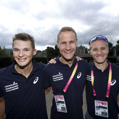 Aleksi Ojala, Jarkko Kinnunen och Aku Partanen