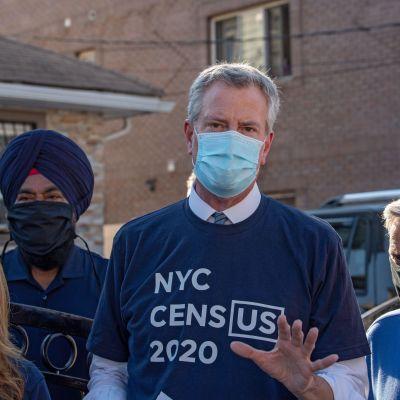 Myndigheter och aktivister över hela USA drev en kampanj för att folk i storstäder som New York skulle räknas i folkräkningen som  utförs vart tionde år.