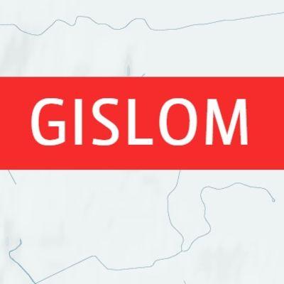 Karta över Gislom och Lovisa