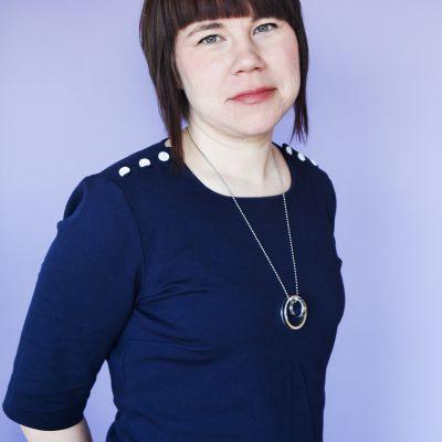 Förbundsordförande Kristina Ljungros på RFSU.