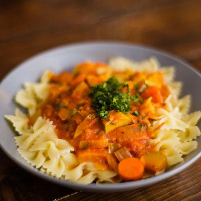 Vegetarisk pastarätt
