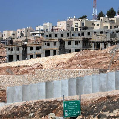 Den israeliska bosättningen Har Gillo på Västbanken