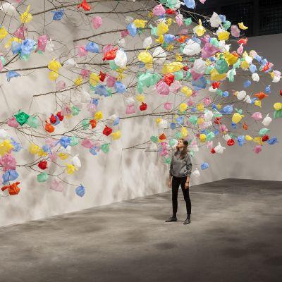 Plastic Tree by Pascale Marthine Tayou.