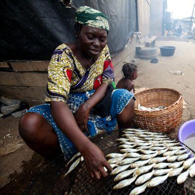 Arbetslösheten är hög i Nigeria.