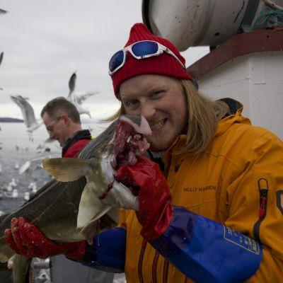 Fiske i Lofoten.