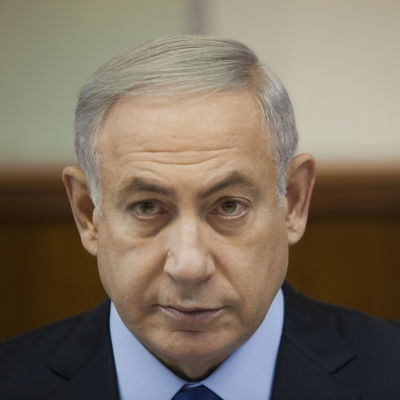 israels premiärminister nebjamin netanyahu