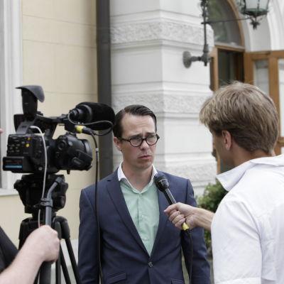 Carl Haglund på Suomi Areena 15.7.2014