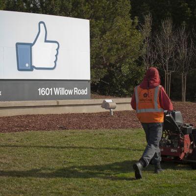 Facebooks huvudkontor i Menlo Park i Kalifornien, i januari 2012.