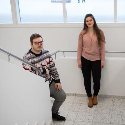 Sara Luttinen ja Sami Luukela