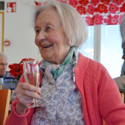 Dora Siivonen från Lammholm.