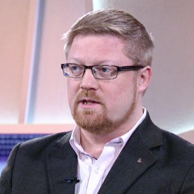 Vieraana F-Securen tietoturvallisuusjohtaja Erka Koivunen.