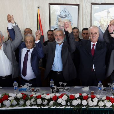 Den palestinska regeringen som domineras av Fatah, höll sitt första möte i Gaza på tre år som ett led i palestiniernas försoningsprocess