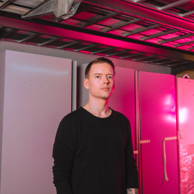 Toimittaja Anton Vanha-Majamaa.