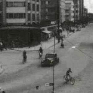 Kouvolan keskustaa vuodelta 1959