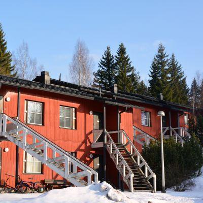 Studiebostäderna vid Styrmansvägen i Borgå
