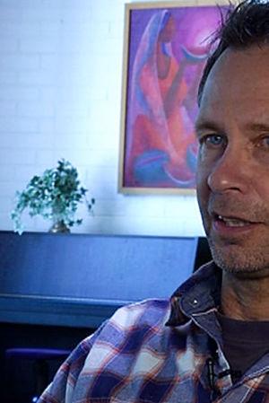 Ari Heinilä haastattelukuvassa