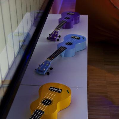 Musik rummet på nya barnsjukhuset i Helsingfors