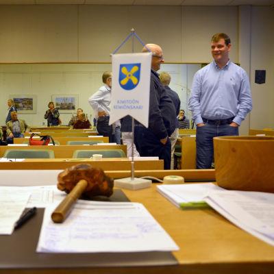 Kimitoöns kommunfullmäktige 27.9.2016.
