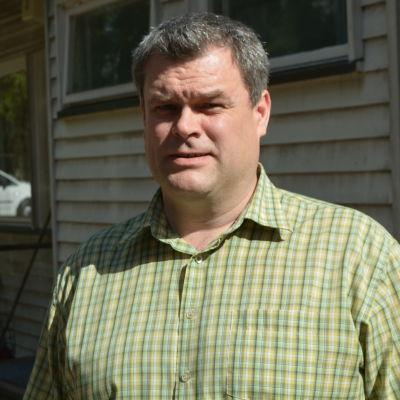 Janne Salonen, vd och disponent för Lappträsks hyreslägenehetsbolag Labyrintti.