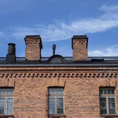 Kasarmikortteli Kuopiossa.