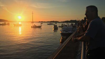 Veneitä Vaasa Festivalin aikaan väylällä