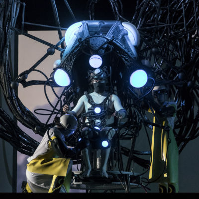 Monstermaskinen, i operan Indigo