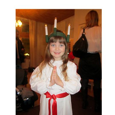 Oulun pikku Lucia 2013 Amanda Westin