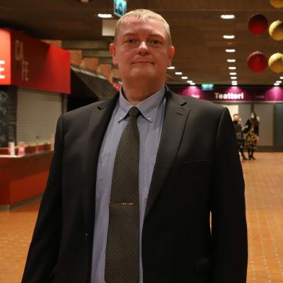Kemin kaupunginjohtajan virkaan hakeva Matti Ruotsalainen.