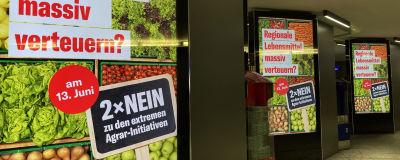 Folkomröstning om ekologisk odling i Schweiz delar invånarna