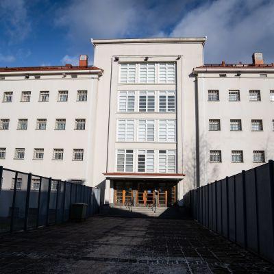 Riihimäen vankila, pääsisäänkäynti