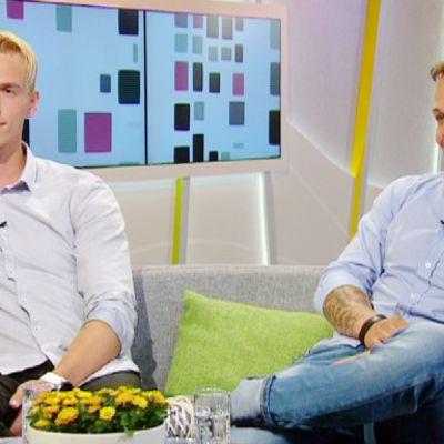 Lauri Laukkanen ja Jesse Haaja
