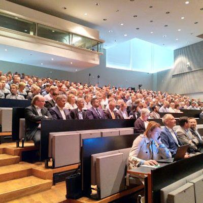 Wärtsilän infotilaisuus Vaasassa 21. elokuuta 2018