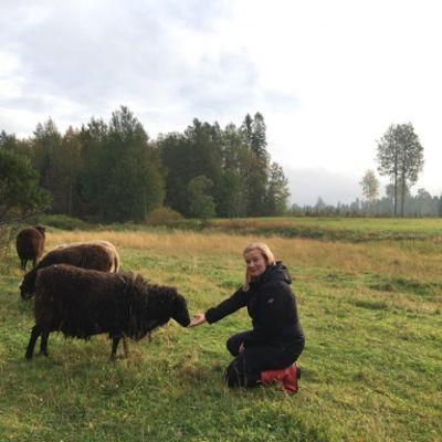Elämys- ja luontamatkailuyrittäjä Virpi Ruotsalainen