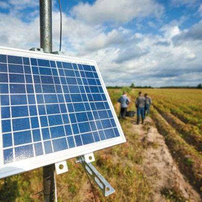 aurinkopaneeli TIMAKO-hankkeessa