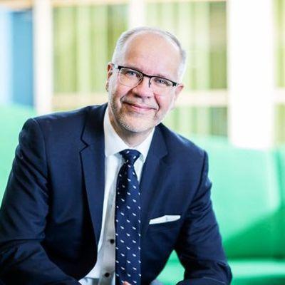 SOK:n uusi pääjohtaja Hannu Krook.