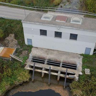 Lapuanjoen Löyhingin pumppaamo sijaitsee Lapuan Jokitien varressa.
