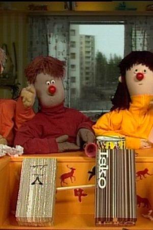 Atte, Elmeri och Mirabell leker, 1998
