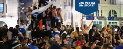 Fest på Salutorget.