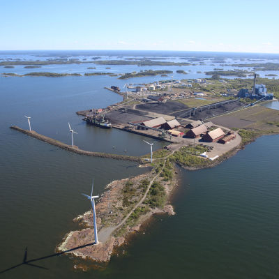 Björneborgs hamn.