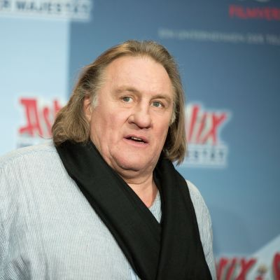 Den franska skådespelaren Gérard Depardieu