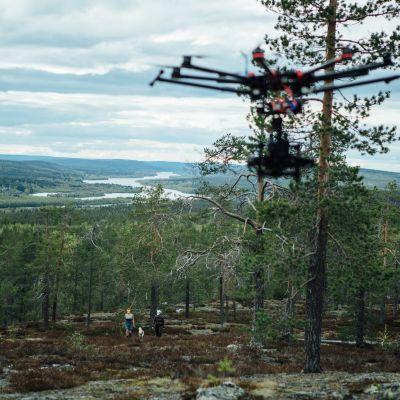 Kopterikamera kuvaa