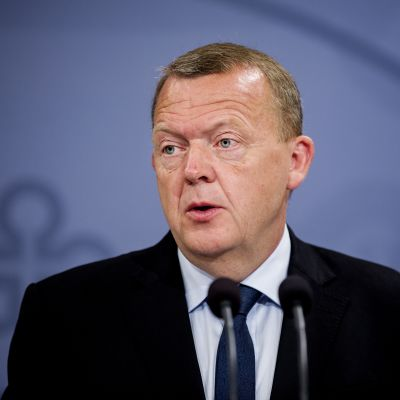 Tanskan pääministeri Lars Løkke Rasmussen.