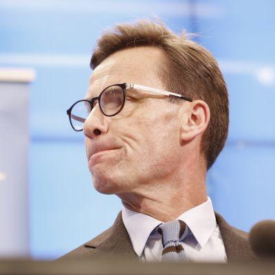 Moderaternas ordförande Ulf Kristersson.