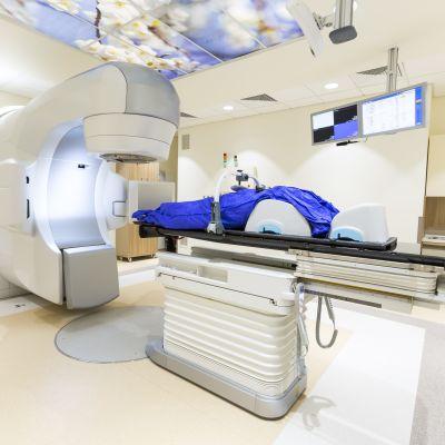 Apparat för traditionell strålbehandling.